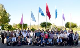 Participants of the Global TraPs 2012 Workshop IV at the site of Sidi Chennane